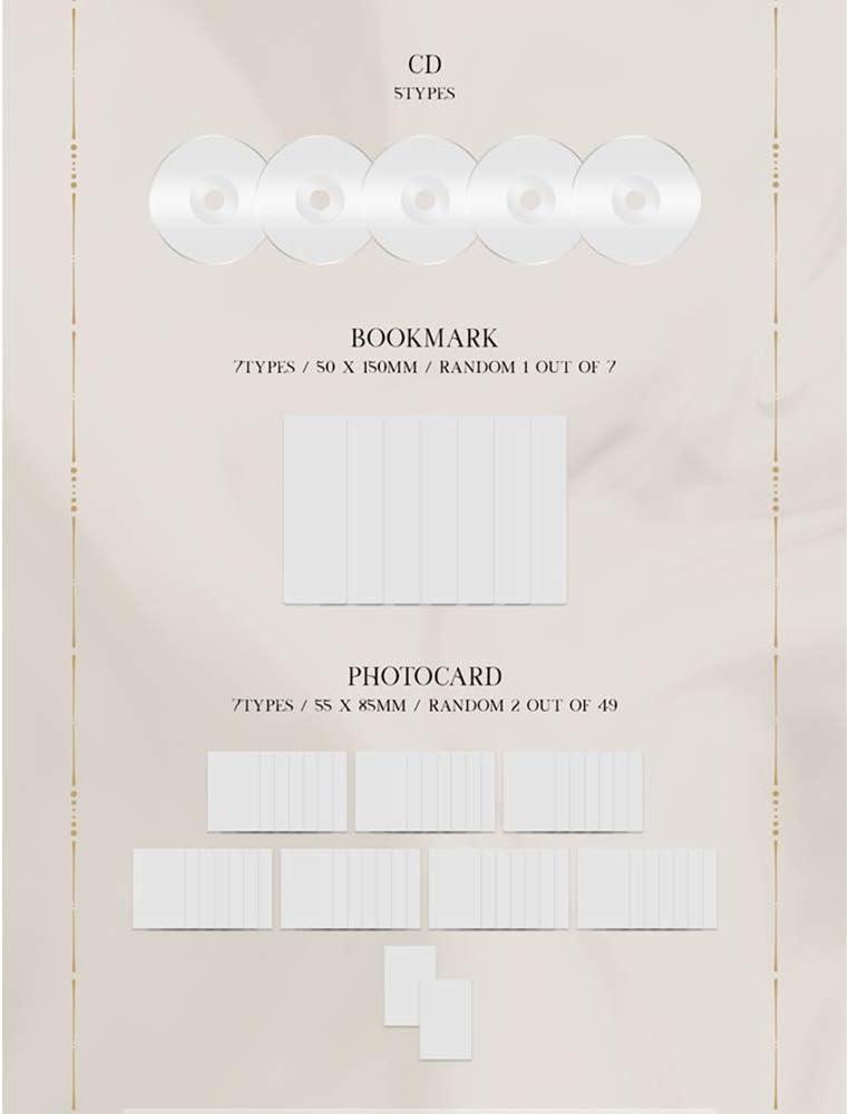 GOT7 Mini album DYE incluso pre-ordine Vantaggi Tourlog Photo Say, cartolina di testo, poster, regalo venditore: una foto in acrilico casuale Set 1,2,3,4,5