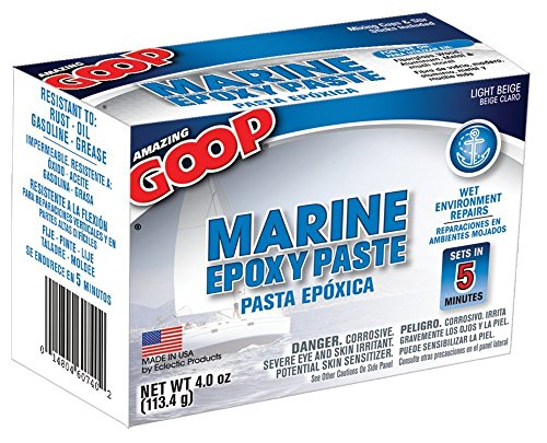 Paste Marine Epoxy (Amazing Goop 5300031 Marine Fix Fast 4 Oz)