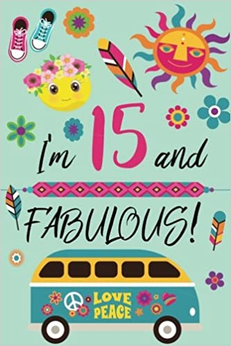 I am 15 and fabulous - retro teen journal