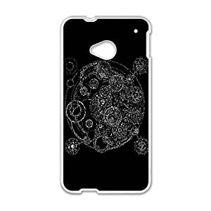 Aztec Gears Vector 0 HTC One M7 Cell Phone Case White Customized Toy pxf005_9646547