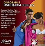 Kleinert's Underarm Sweat Pads 24 Premium Quality Absorbent Dress Shields Armpit Guards