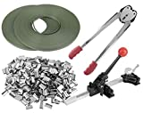STRAPPING TOOL KIT Poly 690 ft PStrap 400 sTEEL Seals + Tools