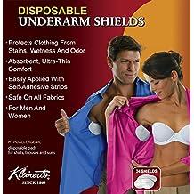 Disposable Underarm Dress Shields (12 Pair) - Kleinert's