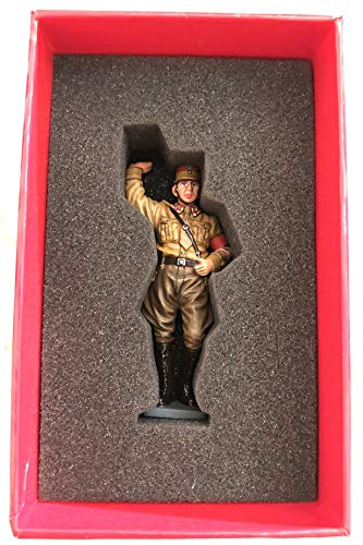 King & Country Horst Wessel Hand Painted Metal Figure Figurine World War Two WWII Model Soldier Germany