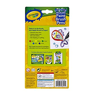 Crayola - Paint Brush Pens - 5 Count: Arts, Crafts & Sewing