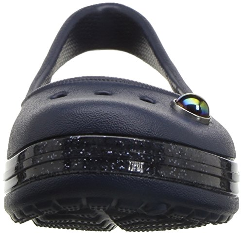 Pictures of Crocs Kids' Genna II Sparkle Flat US 6