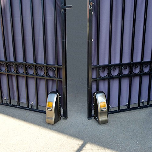 ALEKO RL1350 Roller Dual Swing Gate Opener for Dual Gates 24 Feet and 1400 Pounds by ALEKO (Image #6)