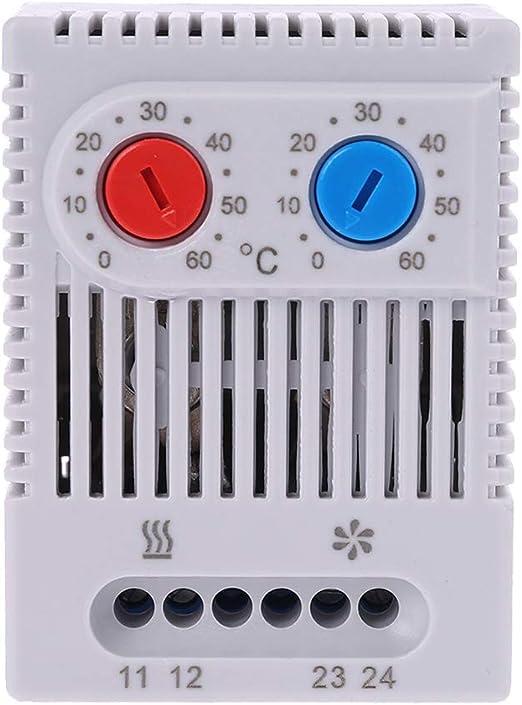 YoungerY Pequeño Controlador de Temperatura Ajustable Compacto ...