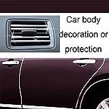 Niome 4M DIY U-shape Car Decoration Strip for