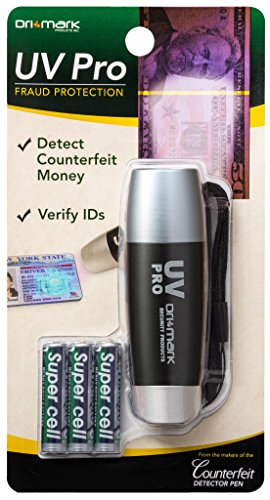 Drimark UV Light, Counterfeit Bill Detector (UVProPlus-B)
