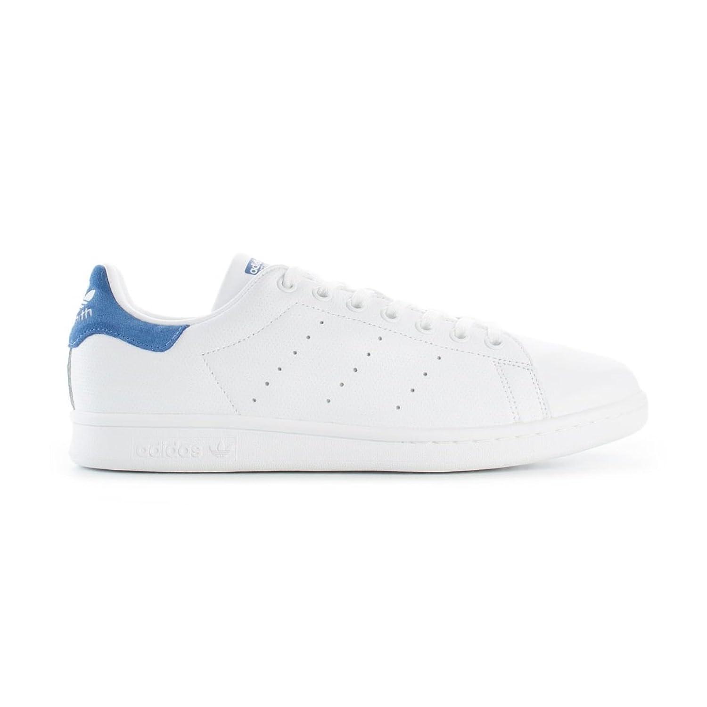 [アディダス] Adidas Stan Smith CQ2208 ホワイト ブルー スタンスミス 男女兼用 [並行輸入品] B079GSBRL3 27.5 cm