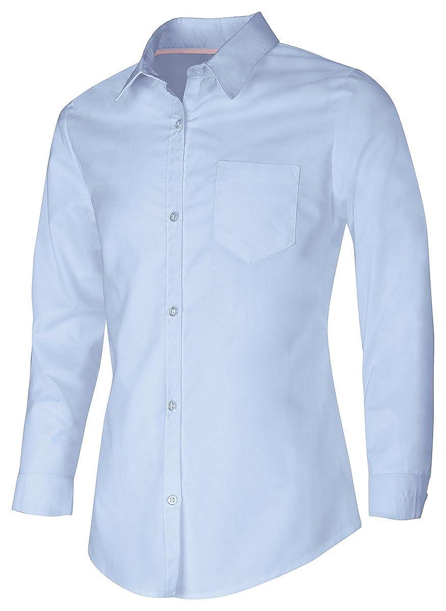 Classroom School Uniforms Girls' Long Sleeve Oxford 57512