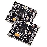 SODIAL(R) DRV8833 1.5A Dual H Bridge DC Gear Motor Driver Controller Board for DIY Smart Car Robot (Pack of 2)
