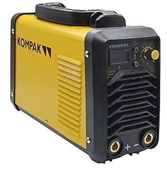 Kompak EW250MMA Soldadora, 220 V: Amazon.es: Industria, empresas y ...