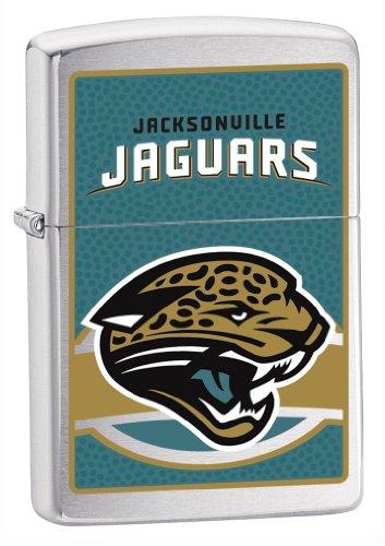 Zippo NFL Jacksonville Jaguars Pocket (Nfl Jacksonville Jaguars Zippo Lighter)