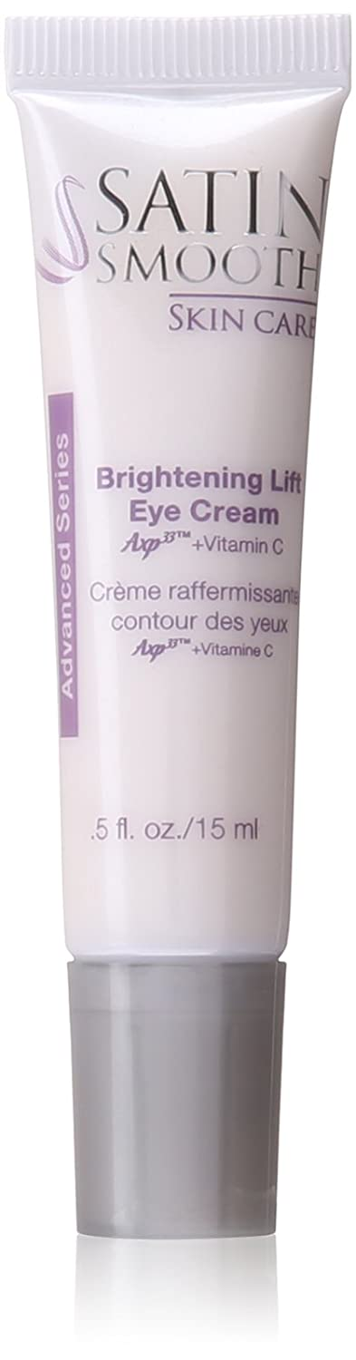 SATIN SMOOTH Skin Care Brightening Lift Eye Cream 0.5 oz. AT-SSKECX