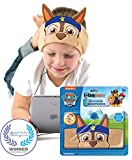Paw Patrol Kids Headphones by CozyPhones - Volume Limited with Ultra-Thin Speakers & Comfortable Soft Fleece Headband - Perfect Children's Earphones for School - Home and Travel - Chase