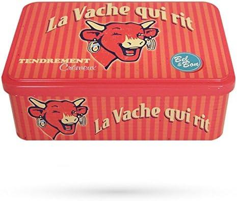 La vaca que rie® Caja Metal Vintage 60 S: Amazon.es: Hogar