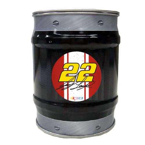 NASCAR #22 Joey Logano Tin Bank-NASCAR Coin Bank-NEW for 2016!
