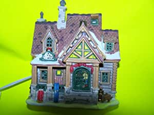 Lemax Village Collection Vail Creek Side Cabin Lighted Building