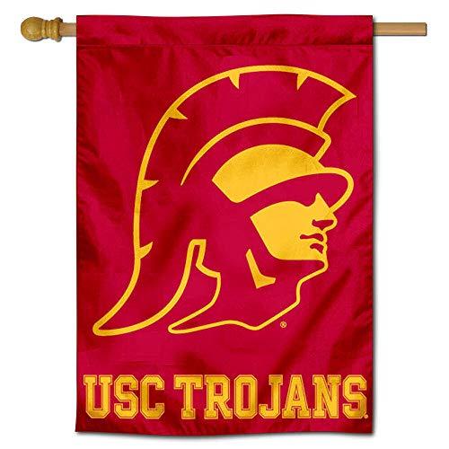 USC Trojans Trojan Head House Flag - Usc Flags