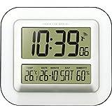 Technoline WS8006 Horloge Radio- Pilotée Argent