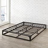 Best Price Mattress Queen Bed Frame, 9 Metal Platform Bed Frame w/Heavy Duty Steel Slat Mattress Foundation (No Box Spring Needed), Queen Size