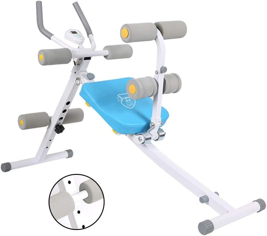 Silla de Fitness Equipos Abdominal Inicio Abdominal Máquina Abdominales Máquina De Cintura Ajustable De Cuatro Velocidades Aparatos De Gimnasia For Adultos Bancos