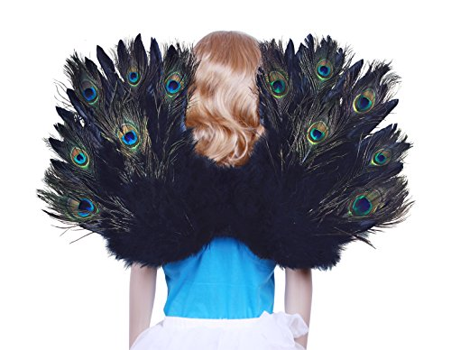 FashionWings (TM) Children's Peacock Feather Costume Angel Wings (Peacock Costume Womens)