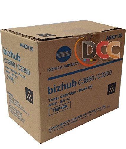 Genuine Konica Minolta TNP48 Black Toner for Bizhub C3350 C3850 from Konica-Minolta