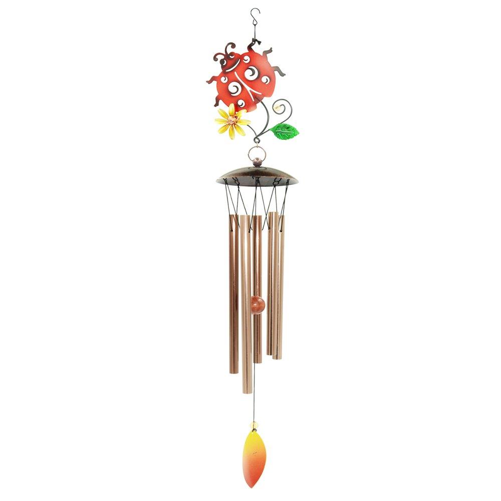 Amazon.com : Hengzhe Wind Chimes, Outdoor Garden and Home Decor, Elegant  Metal Design Windchimes with Soft, B Pentatonic Scale, Beautiful Wind chime  ...
