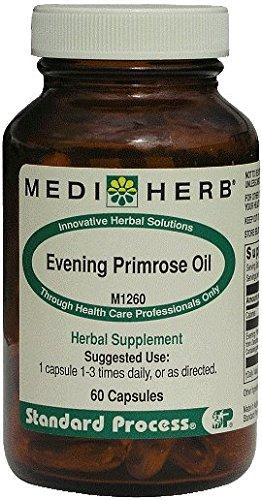Evening Primrose Oil 60 Capsules Mediherb Standard Process