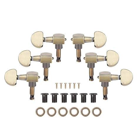 Bnineteenteam Clavijas de afinación de Cuerdas de Bloqueo de ...