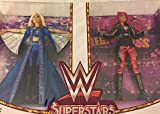 SDCC 2017 Exclusive WWE Superstars Sasha Banks and Charlotte Flair Doll Set