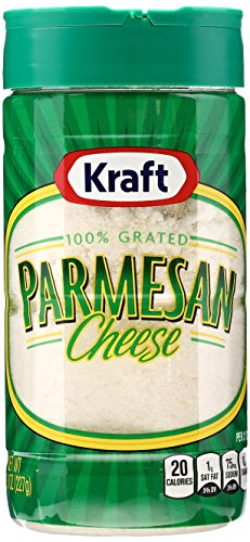 Kraft Parmesan Grated Cheese, 8 oz (Cheese Spaghetti)