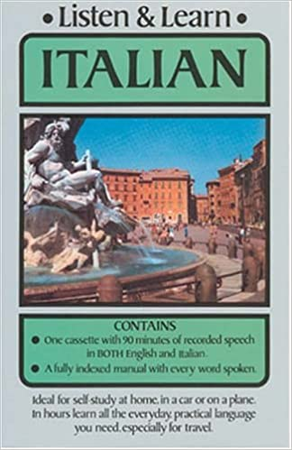 Amazon com: Listen & Learn Italian (Listen and Learn: Audio
