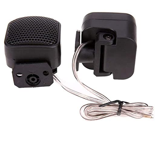 25 mm//0.98 aprox. qhtongliuhewu 90 grados Ajustable Universal Coche Tweeter Auto Audio Alto Altavoz Stand