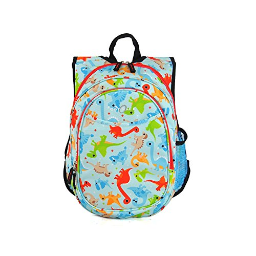 Pocket Chest Parka Insulated - Obersee Kids Pre-School All-in-One Backpack with Cooler, Dinos