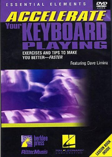 Price comparison product image Accelerate Your Keyboard Playing,  Featuring Dave Limina