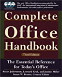 img - for Complete Office Handbook: Third Edition by Susan Jaderstrom (2002-07-15) book / textbook / text book