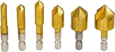 4/pi/èces /à charni/ère Hardware Foret de centrage 11//162,6/cm 9//162,6/cm 7//162,6/cm 5//162,6/cm