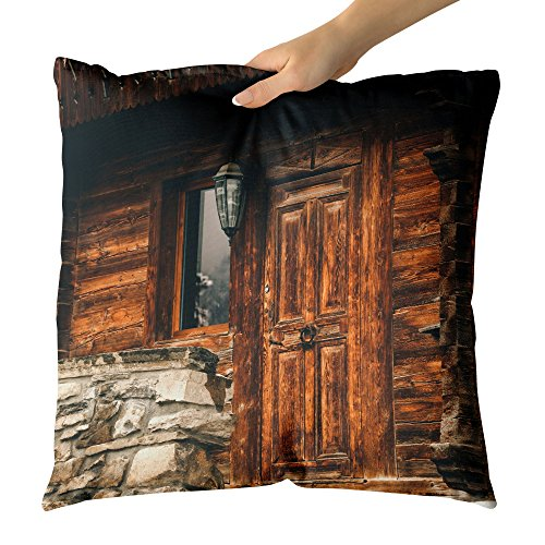 (Westlake Art - Cabin Lantern - Decorative Throw Pillow Cushion - Picture Photography Artwork Home Decor Living Room - 18x18 Inch (7CE12))
