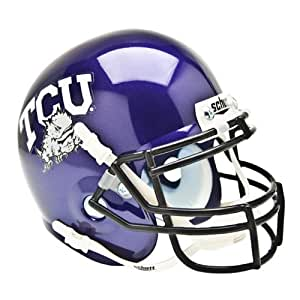 Brand New Texas Christian Horned Frogs NCAA Authentic Mini 1/4 Size Helmet
