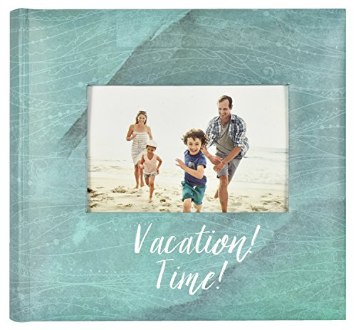 MCS Vacation Time Travel Photo Album, 8.5 x 8.5, Blue