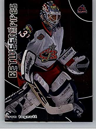 Amazon.com  2001-02 Between the Pipes  3 Ron Tugnutt NM-MT Columbus ... fd2542586