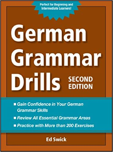 German Grammar Drills German Edition Kindle Edition By Swick
