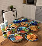 Juvale Dinosaur Party Supplies – Serves 24 – Includes Plates, Knives, Spoons, Forks, Cups Napkins. Perfect Dino Birthday Party Pack Kids Dinosaur Themed Parties.