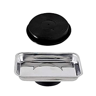 Katzco Micro Parts Tray – Use in Garage, Home, Construction - for Nuts, Bolts, Washers, Iron, Nails, Screws, Sockets, Bits, and More: Home Improvement