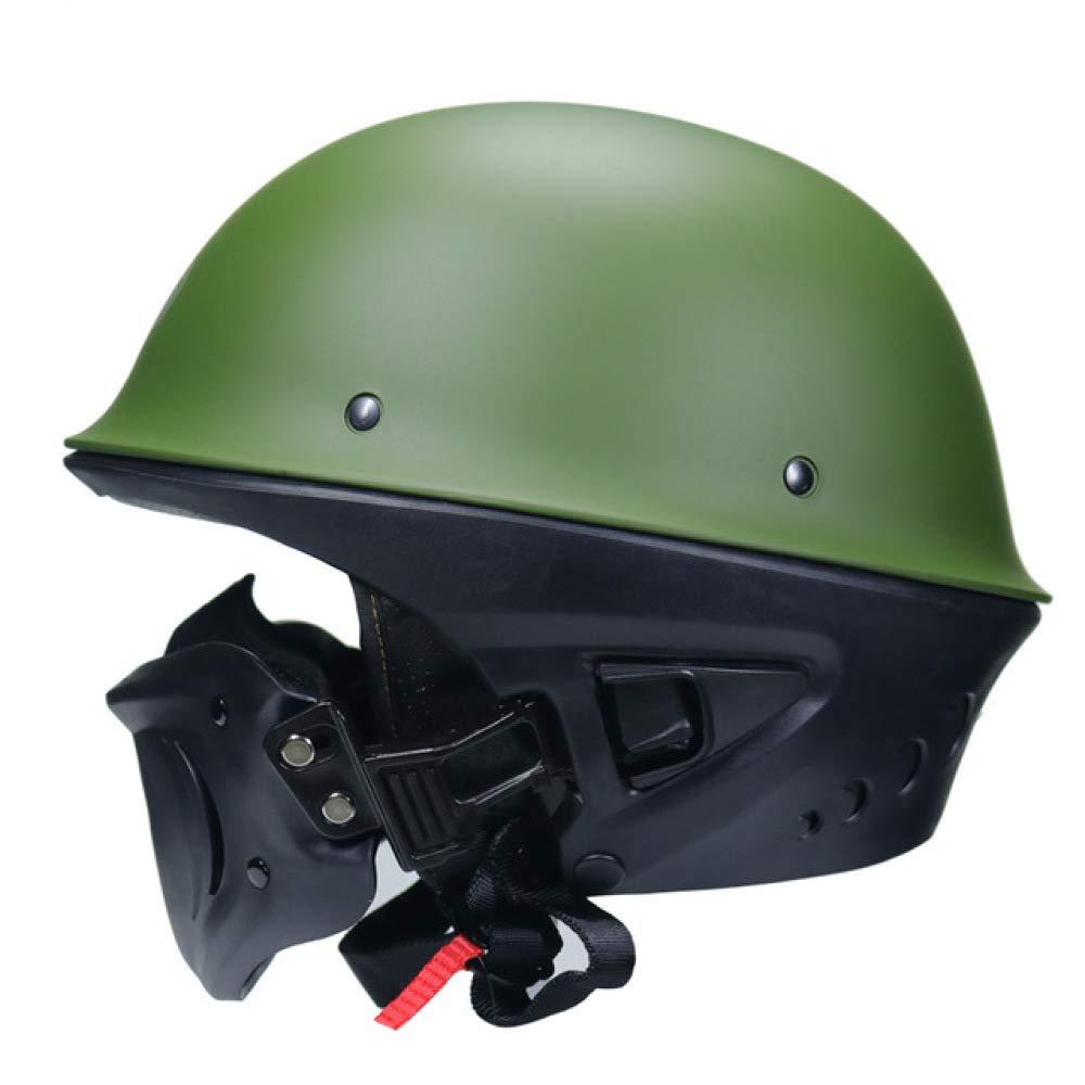 Rogue Bells Motorradhelm Mattschwarzer Motorradhelm 1 M