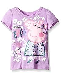 Peppa Pig Little Girls' Flower Tee